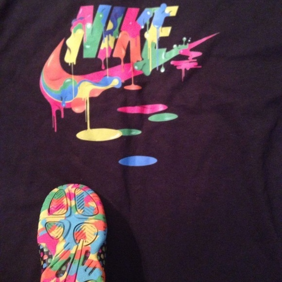 Nike Futura Paint Splash Drip T Shirt Boutique